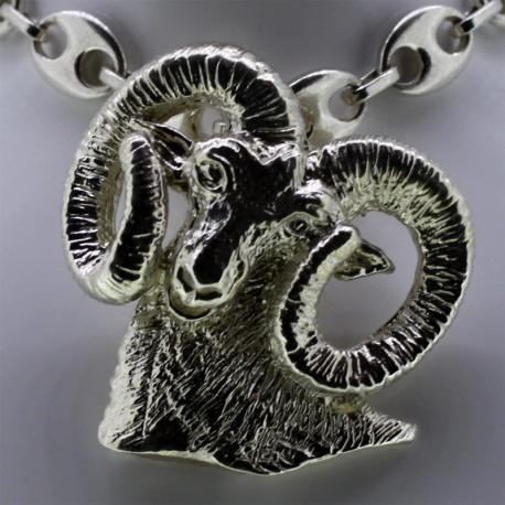 Mouflon argent n°1