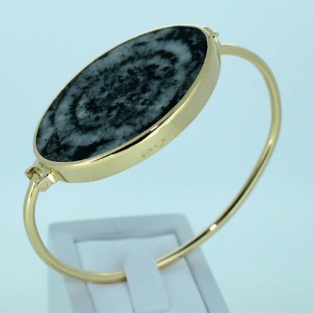 Bracelet Diorite orbiculaire