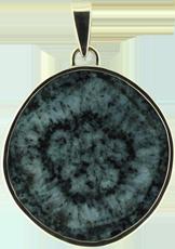 Bijou en diorite orbiculaire