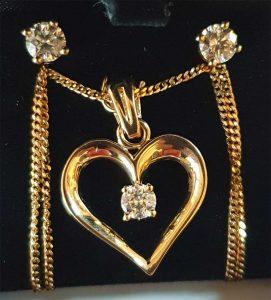 Coeur et BO diamants
